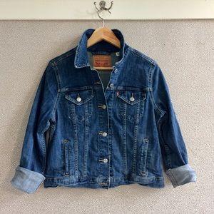 XL Levi Strauss Denim Jean Jacket
